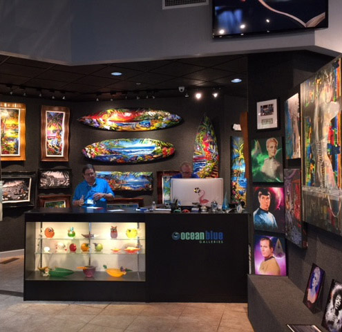 Art Gallery Ocean Blue Galleries St. Petersburg, Winterpark Orlando, Wyland Galleries Sarasota