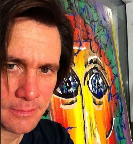 Jim Carey Art at Ocean Blue Galleries