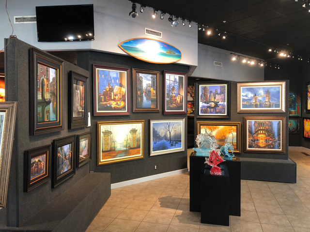 Ocean Blue Art Gallery St Petersburg Florida