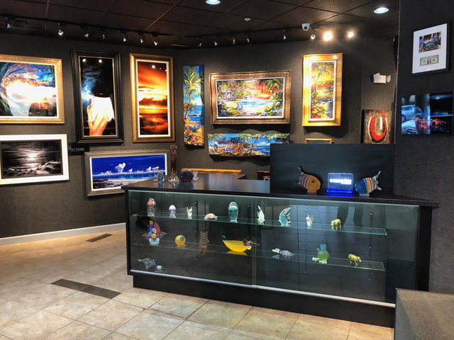 Ocean Blue Art Gallery St Petersburg Tampa Bay Area