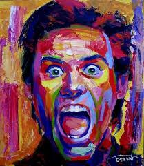 Jim Carey Self Portrait