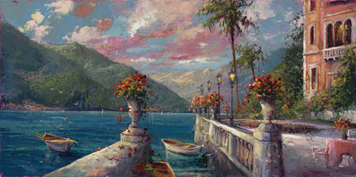 Steve Quartly Art - Bellagio - Ocean Blue Galleries