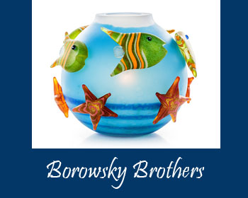 Borowsky Brothers Art at Ocean Blue Galleries Winter Park - Art Gallery Orlando Area