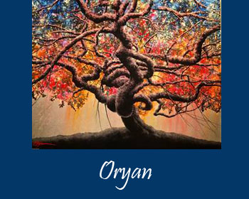Oryan Art at Ocean Blue Galleries Winter Park - Art Gallery Orlando Area