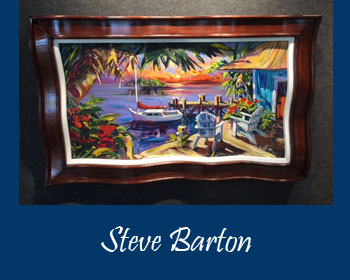 Steve Barton Art at Ocean Blue Galleries Winter Park - Art Gallery Orlando Area
