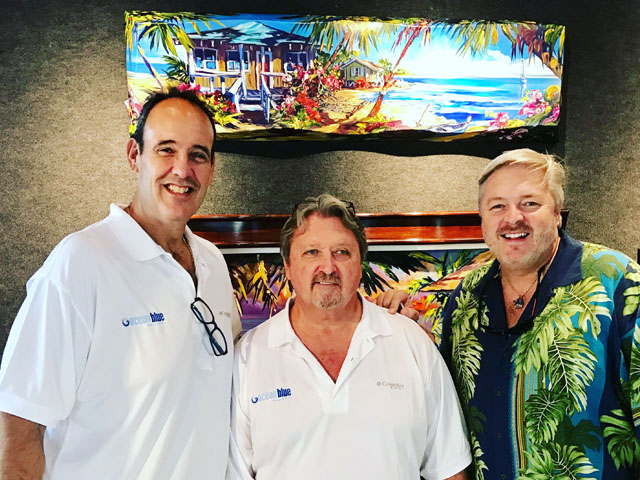 Owners of Ocean Blue Galleries Art Gallery St. Petersburg