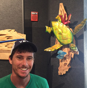 Turtle with Dustin