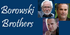 Borowski Brothers - Glass Art - Ocean Blue Galleries St. Petersburg FL