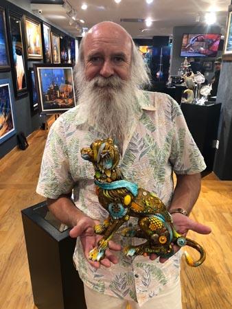 Eighteen with Nano Lopez Ocean Blue Galleries