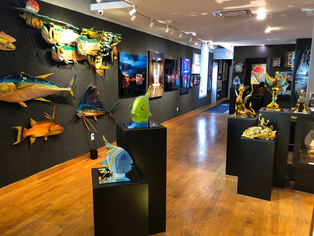 Ocean Blue Galleries - Winter Park - Orlando Area Art Gallery