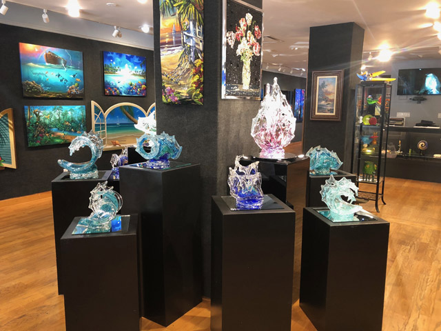 Ocean Blue Galleries - Winter Park - Orlando Area - Art Gallery