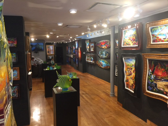 Art Gallery Oralndo Ocean Blue Galleries in Winter Park