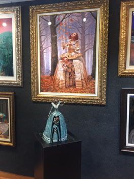 limited-edition-bronze-sculpture-Michael-Cheval-Ocean Blue Galleries-lowres
