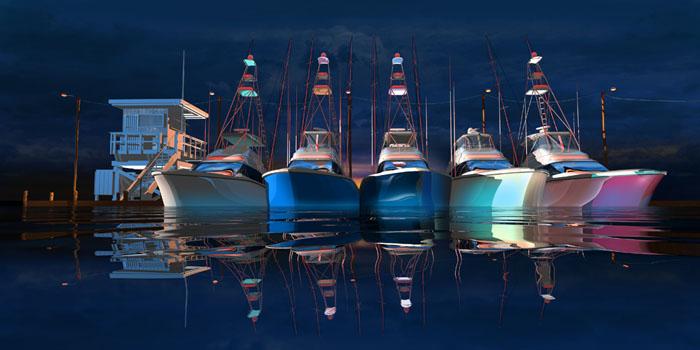 "Steve Harlan ""Come Back Summer"" at Ocean Blue Galleries"
