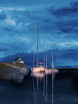 "Steve Harlan ""Last Light"" at Ocean Blue Galleries"