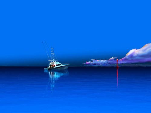 Steve Harlan Marquesas Ocean Blue Galleries