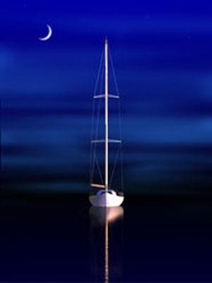 Steve Harlan Midnight Ocean Blue Galleries