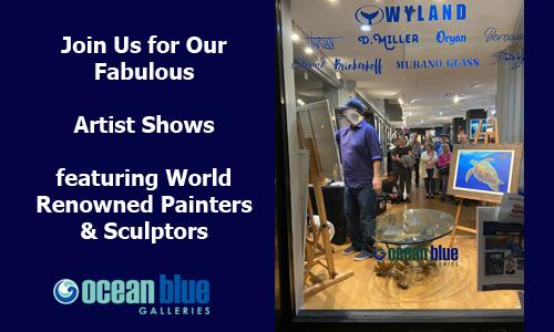 Ocean Blue Galleries Winter Park Art Shows