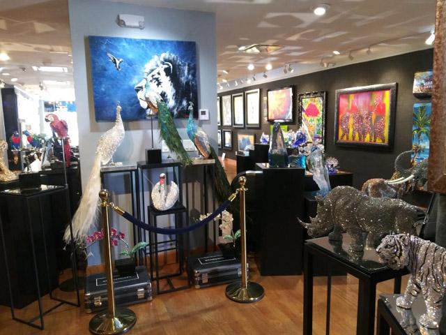 Art Gallery Ocean Blue Galleries Winter Park