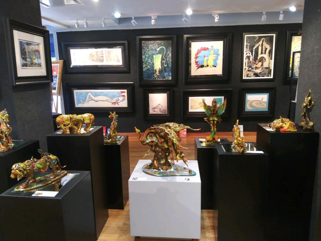 Art Gallery Ocean Blue Galleries Winter Park near Orlando