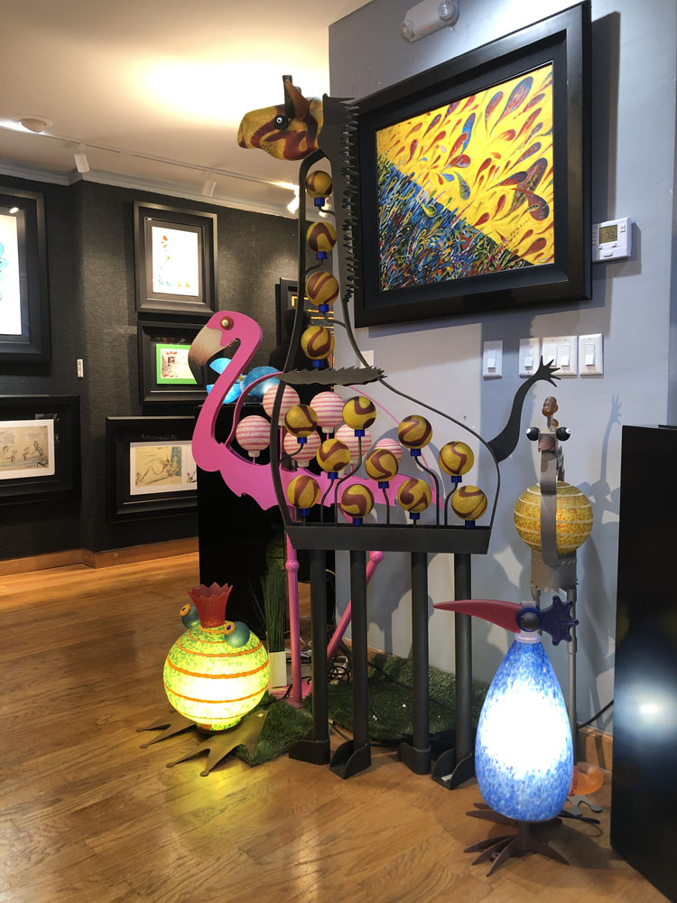 Ocean Blue Galleries Winter Park Art Gallery - Featuring Borowski Glass
