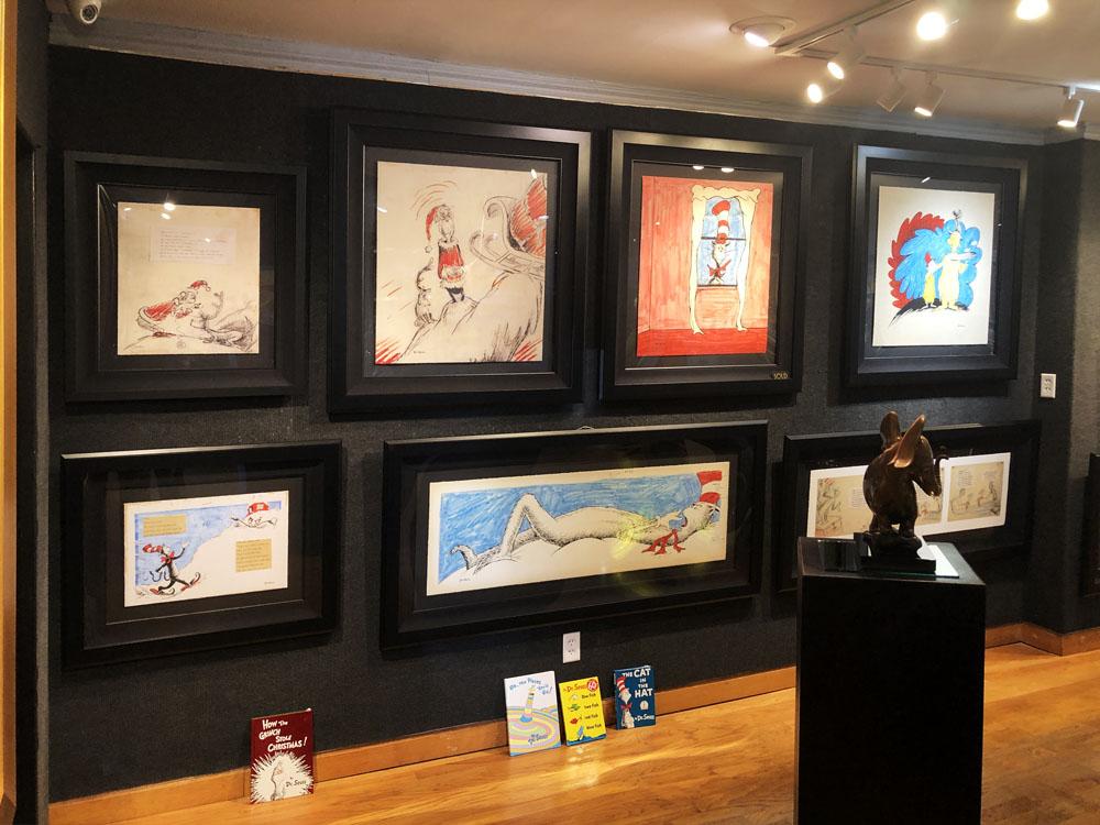 Ocean Blue Galleries Winter Park Art Gallery - Featuring Dr Seuss