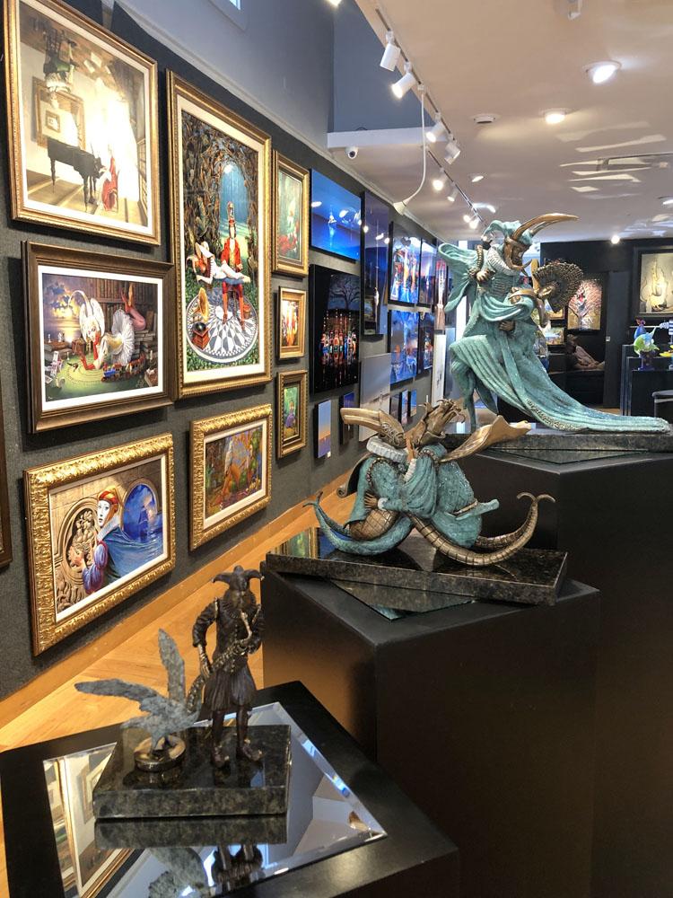 Ocean Blue Galleries Winter Park Art Gallery - Featuring Michael Cheval