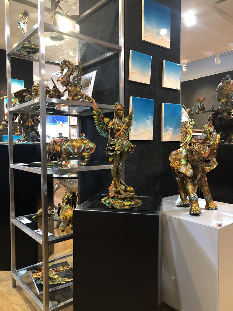 Ocean Blue Galleries Winter Park Art Gallery - Featuring Nano Lopez