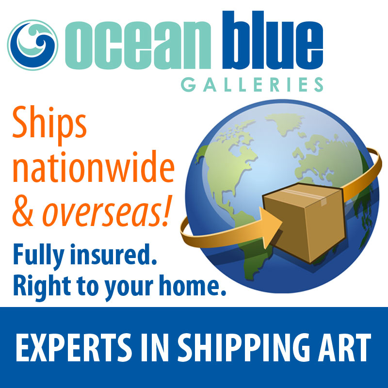 Ocean Blue Galleries - Experts in Shipping Art - Shipping nationwide and overseas